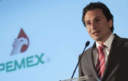 Lozoya, who was indicted in Mexico last year, was one of former President Enrique Pena Nieto's closest aides, and ran Pemex, from 2012 to 2016.