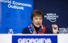 """I advise everybody not to jump to premature conclusions. There is still a great deal of uncertainty. We operate with scenarios, not yet with projection"" Georgieva said."