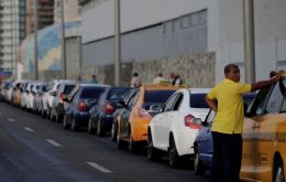 Cuba also has experienced hour-long lines at pumping stations, while in the far east of the island supply seems to have dried up