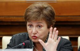 """Our legal construct is such that we cannot do measures that may be possible for others without this big global responsibility,"" Georgieva said on Sunday in Dubai."