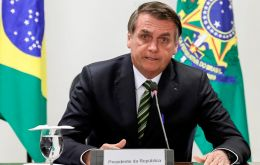 """A new date will depend on the foreign ministers"" Bolsonaro said about the meeting originally scheduled to take place in Montevideo"