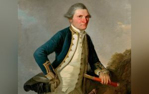 Portrait of Captain James Cook (John Webber)