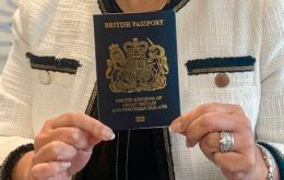 """By returning to the iconic blue and gold design, the British passport will once again be entwined with our national identity and I cannot wait to travel on one"""