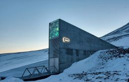 "Dubbed the ""doomsday vault"", the facility lies on the island of Spitsbergen in the archipelago of Svalbard, halfway between Norway and the North Pole"