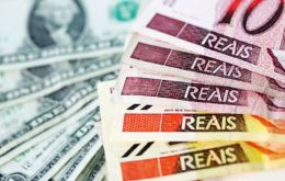 The Real weakened 1.1% to 4.4470 against the dollar, as it led declines among other Latin American currencies