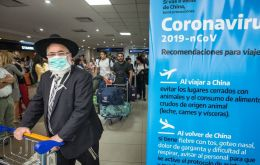 Health Minister Gines Gonzalez Garcia said the Argentine patient has been in isolation since going to a private health clinic in Buenos Aires the day he returned.