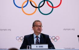 IOC spokesperson Mark Adams said relocating the Olympics is not an option and that the games will take place as scheduled between July 24 and Aug. 9.