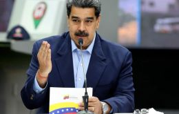 Maduro made the exhortation during a televised event on Tuesday evening for a government program promoting various birth methods.