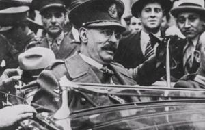 Nazi presence in Argentina is well documented, and dates back to the pro-Nazi regimes of Argentine president José Félix Uriburu (in picture) and Agustín Pedro Justo.