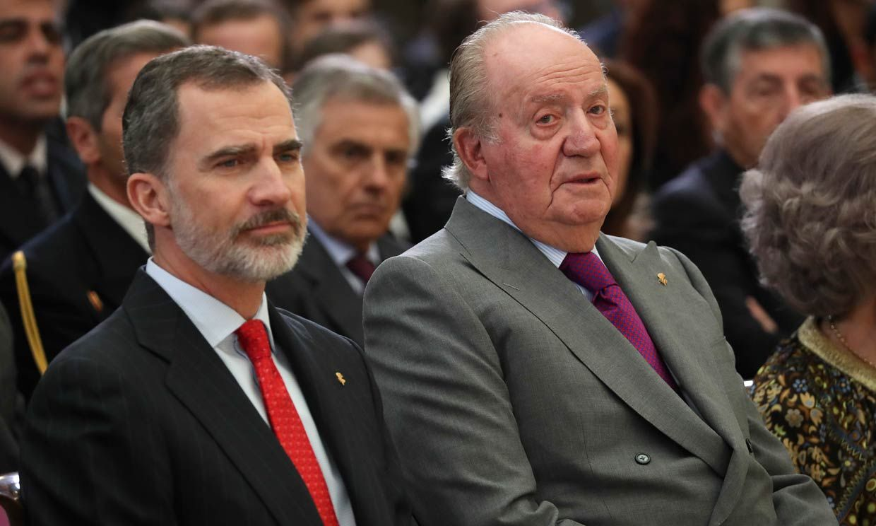 Spanish king renounces inheritance from scandal-hit father