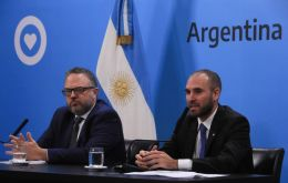 """These are decisive measures to ensure that economic activity will continue and that Argentine society is protected..."" Economy Minister Martín Guzmán said"