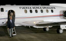 The 41-year-old midsize aircraft was bought for around one million dollars by the administration of president Vasquez, despite strong parliamentary opposition