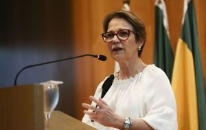 """Our alignment at the highest political level is indispensable, which should also be reflected in agile and clear instructions for the operational plan"", argued Brazilian minister Tereza Cristina."