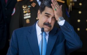 "Washington on Thursday indicted president Maduro and several current and former top government officials for ""narco-terrorism"""
