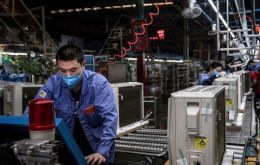 The Purchasing Managers' Index (PMI) rose to 52 in March from the collapse to 35.7 in February, China's National Bureau of Statistics (NBS) said on Tuesday