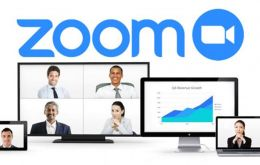 Zoom gained over 2.22 million users in the first months of 2020 and even as the stock market has plummeted, shares of Zoom have more than doubled