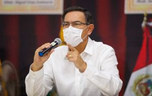 """Measures are taken based on the objectives we want to achieve: that ... we can give the virus the minimum possibility to spread,"" said President Martin Vizcarra."