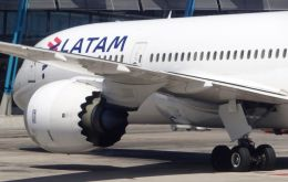 "However Latam will continue operating domestic flights in Brazil and Chile ""to the extent that there is demand."""