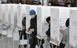 South Korea is the first country with a major virus outbreak to hold a national election since the global COVID-19 pandemic began
