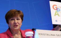Kristalina Georgieva said comes under the IMF's revamped Catastrophe Containment and Relief Trust (CCRT)
