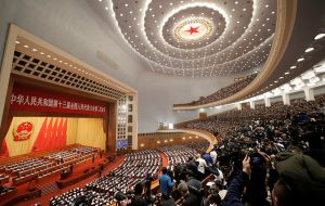 "The ruling Communist Party postponed its once-a-year congress, known as the ""two sessions"", in March"