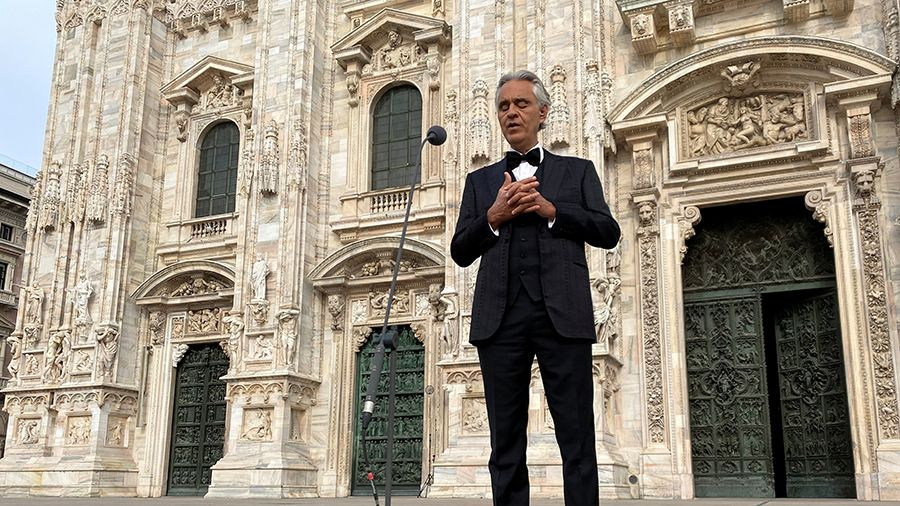 Bocelli S Easter Concert Was The Most Watched Classical Music On Youtube Mercopress