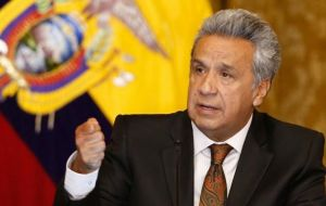 For president Moreno boosting funds to fight the virus could conflict with efforts to pay creditors and implement austerity measures to balance a gaping fiscal deficit.