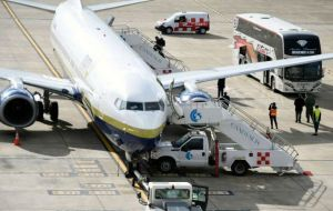 Two repatriation humanitarian sanitary flights were organized to help passengers return to their countries of origin