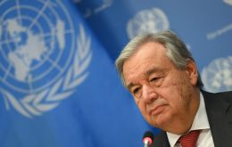 """On this Earth Day, all eyes are on the COVID-19 pandemic, the biggest test the world has faced since the Second World War,"" Guterres said"