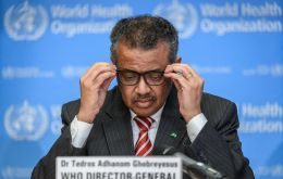 As some countries move to lift lockdown restrictions that have upended daily life around, WHO chief Tedros Adhanom Ghebreyesus issued a sober warning