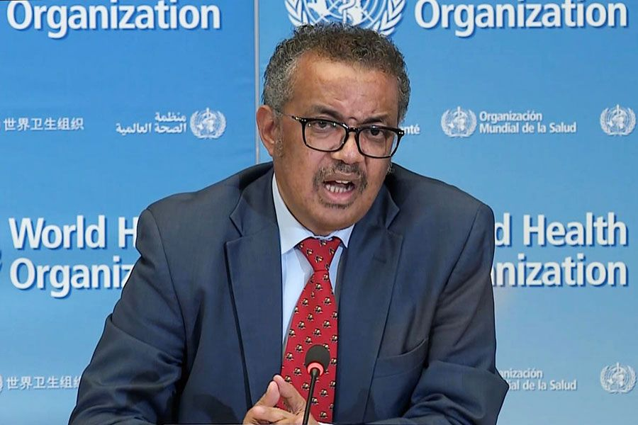 COVID-19 pandemic is far from over, says World Health Organization chief