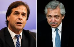 "Lacalle Pou told Fernandez that his government's intention is that ""Mercosur continues to strengthen"", and thus Uruguay ""has the need to keep advancing in the accord negotiations""."