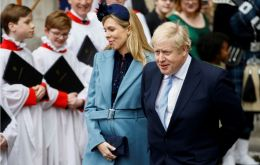 """The Prime Minister and Ms Symonds are thrilled to announce the birth of a healthy baby boy at a London hospital,"" the couple's spokeswoman said"