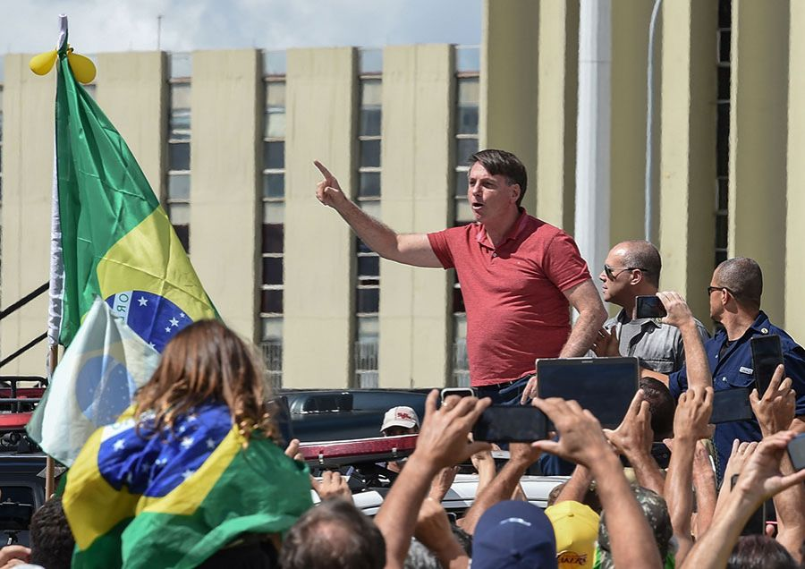 Bolsonaro Supporters in Brazil Call for Military Intervention