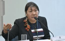 """It is a real emergency. Indigenous people are vulnerable and have no protection,"" Joenia Wapichana, the first indigenous woman elected to Brazil's Congress said"