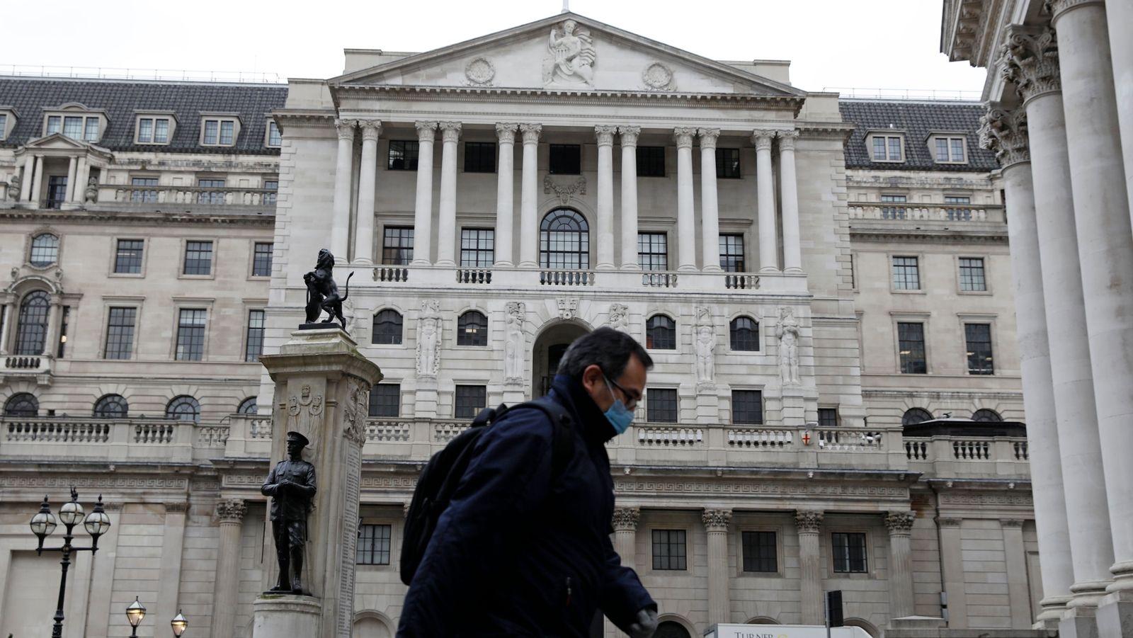 Coronavirus: Pound jumps amid lockdown easing hopes and BOE holds rates