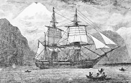 The ship, launched in 1820, allowed Darwin to make observations that led to his theory of natural selection.