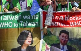 Taiwan is excluded from the WHO due to the objections of China, which views the island as one of its provinces
