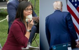 CBS News reporter Weijia Jiang asked Trump why he continued to insist that the US was doing better than other countries when it came to testing for the virus.