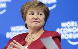 IMF chief Kristalina Georgieva said the crisis was offered an opportunity to tackle persistent inequality and other priorities such as climate change, if recovery funds were properly focused.