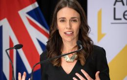 """The PM says she just waits like everyone else,"" the public Television New Zealand cited Jacinta Ardern's press service as saying."