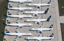 Germany will take a 20% stake in Lufthansa. Germany will buy the new shares at the nominal value of 2.56 Euros apiece, for about 300 million Euros