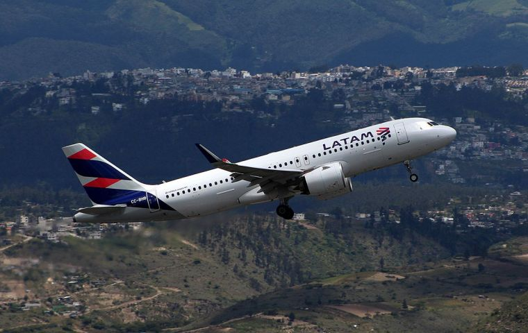 Filing highlights the financial weakness of Latin America's carriers, following a similar bankruptcy earlier this month by the region's Avianca Holdings