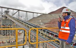Some Peruvian mining operations are partially operating after the government gradually eased restrictions aimed at curbing the spread of the coronavirus