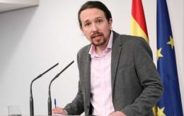 """Today a new social right has been created in Spain,"" said Pablo Iglesias, a deputy prime minister and head of the hard-left Podemos"