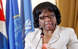 She said in a virtual briefing that US provides 60% of the WHO's regional branch, the Washington-based Pan American Health Organization (Paho), which she heads