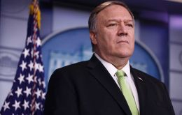 Pompeo's remarks on the issue illustrate the Trump administration's desire to make it harder for some Chinese companies to trade on exchanges outside of China.