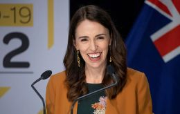 """While the job is not done, there is no denying this is a milestone ... Thank you, New Zealand,"" Prime Minister Jacinda Ardern told a news conference"