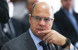 "It was one of 14 impeachment motions facing Wilson Witzel, ex ally of President Jair Bolsonaro, who accuses the right wing leader of ""political persecution""."