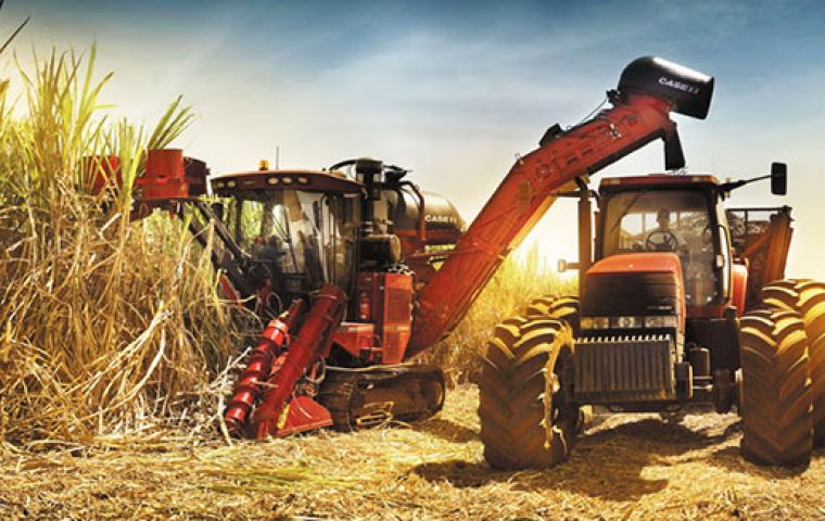 Brazil once again is expecting record oilseed and sugarcane harvests. Diesel powers the tractors in the fields as well as the trucks and trains that ship the harvest